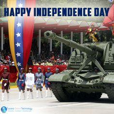 Happy #IndependenceDay in #Venezuela