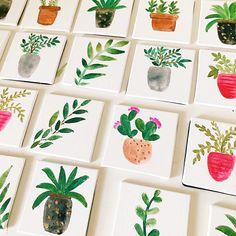 Boho Mini Magnets Ken + Co  Www.etsy.com/shop/kenandco