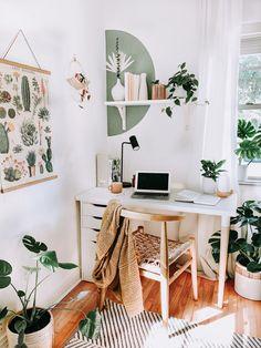 Small Space Office, Home Office Space, Home Office Design, Home Office Decor, Office Spaces, House Design, Small Office Decor, Interior Office, Office Desk