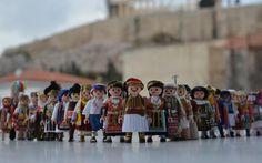 Folk dance aficionado gives Playmobil figures a traditional Greek makeover, Sakis Ioannidis 3rd Millennium, Greek History, Folk Dance, Greek Art, Magical Creatures, 20 Years Old, Blythe Dolls, Mythology, Greece