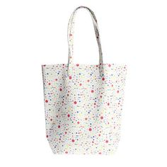 Leather Tote Space Confetti on Fab. Fab EXCLUSIVE