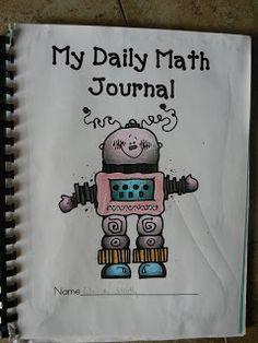 Mrs. T's First Grade Class: Math Journals