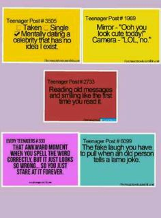 The last one is totally true lol