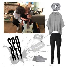 Babysitting date by ellilla on Polyvore featuring Versace, Vans, M&Co, Rebecca Minkoff and MANGO