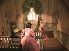Gone with the Wind Aunt Pittypat's staircase