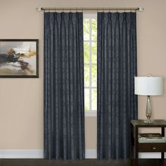 Found it at Wayfair - Windsor Pinch Pleat Blackout Curtain Panels