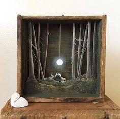Wonderful Miniature Paper Art in Wooden Boxes – Fubiz Media