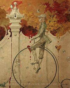"""Tooling"" ~ Daniel Merriam ~ Watercolorist Extraordinaire ~ Miks' Pics ""Daniel Merriam l"" board @ http://www.pinterest.com/msmgish/daniel-merriam-l/"