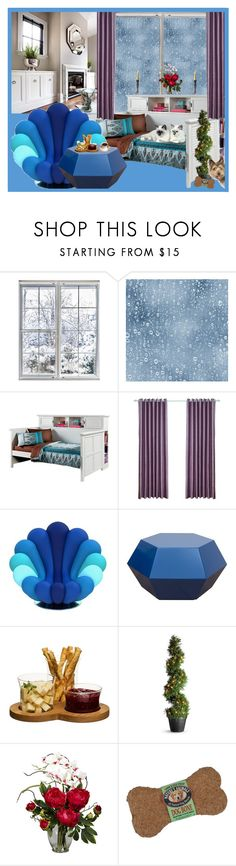"""""""Cozy home on a rainy day !"""" by fantasiegirl ❤ liked on Polyvore featuring interior, interiors, interior design, home, home decor, interior decorating, Sagaform, Improvements and Nearly Natural"""
