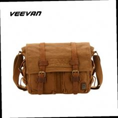 52.19$  Buy here - http://aliroa.worldwells.pw/go.php?t=1743692274 - VEEVAN 2016 new canvas men messenger bag leisure school hand bag vintage canvas travel postman shoulder bags business briefcase