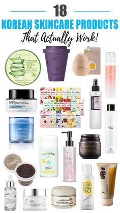 18 Best Korean Skincare Products That Actually Work 18 besten koreanischen Hautpflegeprodukte, die tatsächlich funktionieren Work Beauty Nerd By Night Source by LdyLuxe Beauty Care, Beauty Skin, Beauty Tips, Beauty Ideas, Beauty Secrets, Beauty Makeup, Face Beauty, Beauty Photos, Korean Skincare Routine