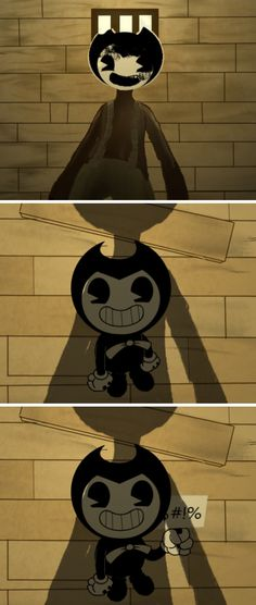 Bendy and the ink machine comic by bendysstudio on Tumblr