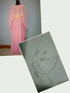 Ideas Sewing Diy Dress Sleeve For 2019 Long Dress Patterns, Dress Sewing Patterns, Clothing Patterns, Sewing Basics, Sewing Hacks, Sewing Tutorials, Sewing Diy, Fashion Sewing, Diy Fashion