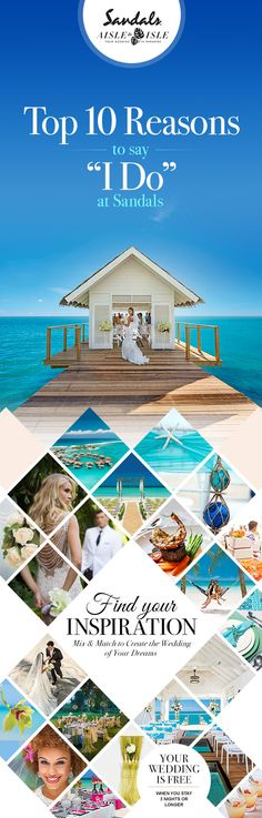 Get married in paradise and stick around for the honeymoon! Book your destination WeddingMoon® at Sandals Resorts. Sandals gives you endless ways to create your dream destination wedding. Let your imagination run wild with possibilities. Thailand Honeymoon, Honeymoon Destinations, Thailand Travel, Summer Wedding, Dream Wedding, Wedding Day, Budget Wedding, Perfect Wedding, Wedding Planning