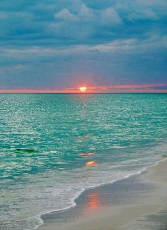 Emerald coast Florida. Perfect destination for a wedding. Emerald waters, white sand and a beautiful sunset to say I do.
