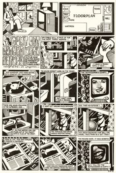 """""""Don't Get Around Much Anymore,"""" a one-page comic by Art Spiegelman (1973)"""