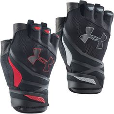 Under Armour 2015 Mens UA Resistor Training Gloves Support Gym Weight Lifting #UnderArmour
