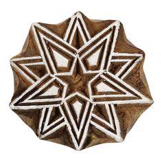 Indian Wood Block Art Decorative Stamps by Indianbeautifulart