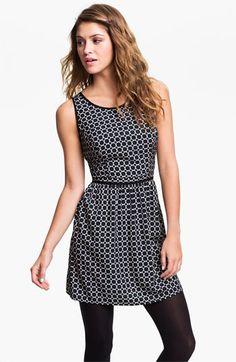 Mimi Chica Print Dress (Juniors) | Nordstrom