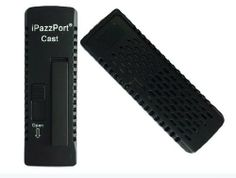 iPazzPort™ iPazzCast HDMI Streaming Media Player for Miracast and ScreenCast — Compatible with Android OS 4.2+, Samsung Galaxy Phones and Ta...