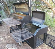 Image Gallery homemade reverse flow smokers – Famous Last Words Bbq Smoker Trailer, Bbq Pit Smoker, Diy Smoker, Barbecue Pit, Homemade Smoker, Bbq Grill, Asado Grill, Outdoor Barbeque, Weber Grill