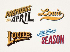 Jon Contino for Louie Season 2
