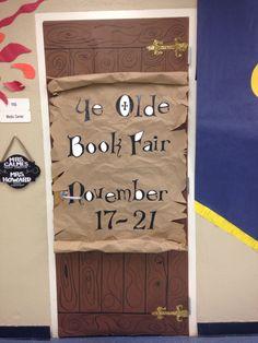 Sir Readalot Book Fair library door