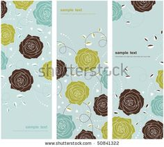 Beautiful Floral Background Stock Vector 50841322 : Shutterstock