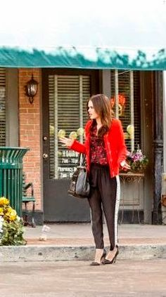 "Zoe's Parker Grayson Combo Pant ""Hart of Dixie"" Season 3, Episode 18 ""Back in the Saddle Again"""