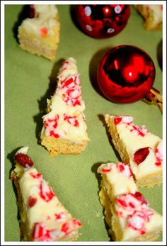 Cranberry Bliss Bars just like my favorite coffee shop makes