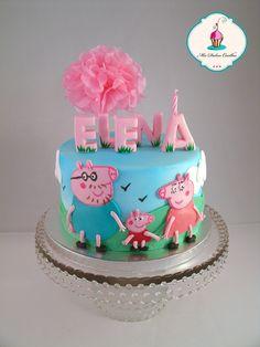 Tarta peppa pig Peppa Pig cake
