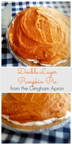 Pumpkin pie with a cheesecake layer. Easy, cool, creamy, and refreshing. A new twist on a fall classic!
