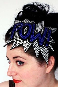 These Comic Book Headbands are for the Nerd Who has Everything trendhunter.com