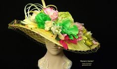 ac8678cd919 Gena Conti Custom Millinery Couture Kentucky Derby