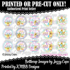 Printed  Precut: EGGSTRA SPECIAL  Easter Bunny 2118 by KMBBDesigns