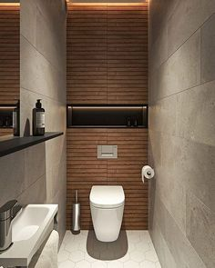 Small Toilet, Minimalism, Pure Products, Interior Design, Bathroom, Contemporary Style, Dating Anniversary, Guitar Tutorial, Davos