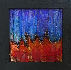 'Crystal Blaze'  Artist: Pat Mitchell by Lin Schorr, via Flickr