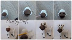 Baby sven part 2 tutorial. I used dust to get the collor, mixed brown, yellow en red :)