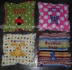 Tracy's Treasury: Super Simple Slushy Icepacks (& Boo Boo Bears!)