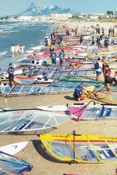 Windsurf - Denia (Vergel), Spain