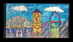 5-Architecture Drawings- change to cardboard stamping and color theory