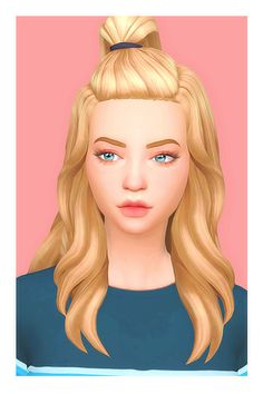 Moa Hair Too much hairs that bother you? , then tie some up! [[MORE]]• Base game hair compatible • Not hat compatible • Normal and Ear Tucked version (as shown above) • For Teen -> Elder • 18 EA hair...