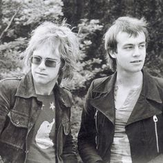 On this day in 1967, Reg Dwight (Elton John) and his song writing partner Bernie Taupin signed to DJM publishing