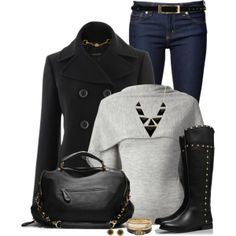 'Charp' sweater, created by immacherry on Polyvore