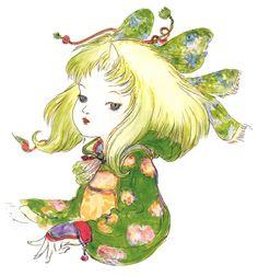 Yoshitaka Amano - Eiko - Final Fantasy IX