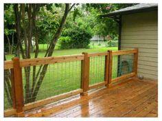 Back deck, yard Larke friendly, shade, privacy