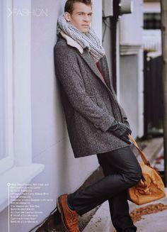 'Man on Fire': Coleman para Fave Men Magazine Autumn Issue 2014