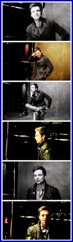 Sebastian Stan - Bucky Barnes - Captain America Cast