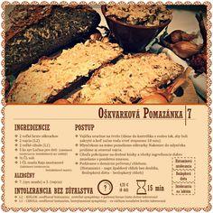 oskvarkovo (vajickova) pomazanka Desserts, Food, Diet, Tailgate Desserts, Deserts, Essen, Postres, Meals, Dessert