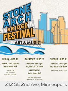 #FathersDay Weekend #artsfestival Mpls-St Anthony among my favorite artists: M.Belotti, Mike Welton, Timm Jacobs http://www.stonearchbridgefestival.com/